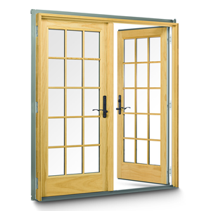 Anderson 400 Series Frenchwood Hinged Patio Door