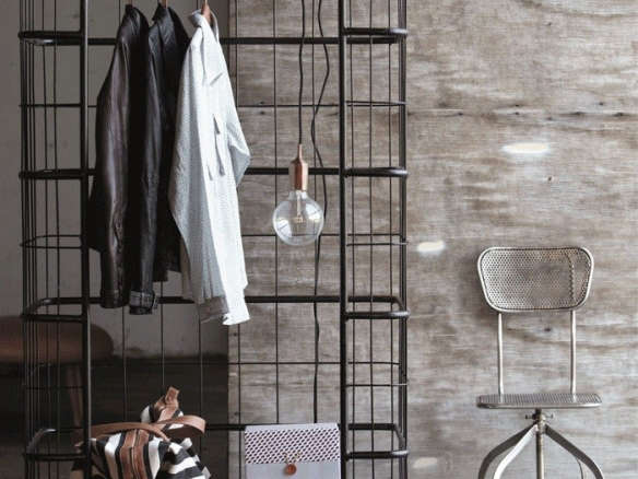 Very Cool Industrial Clothes Rack