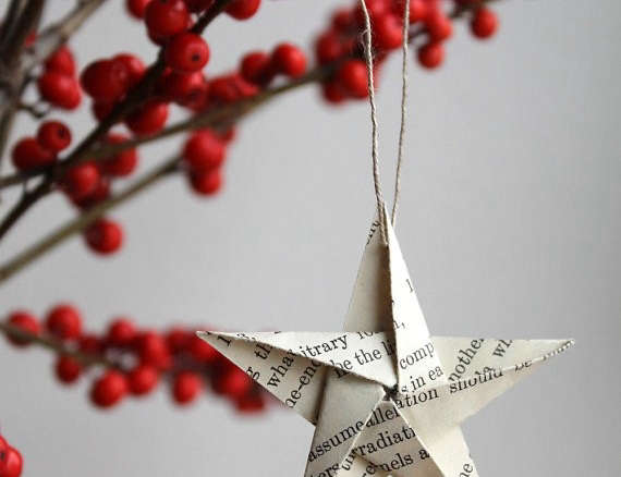 Origami Christmas Ornaments | Apartment Therapy | 438x570