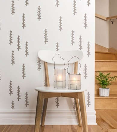 Diy The Stenciled Kid S Room Boreal Forest Edition