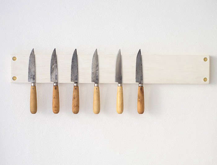 Above: Heidi Swanson Of 101 Cookbooks Commissioned The 20 Inch Long Jacob  May Knife Strip In Bleached Maple For Her SF Offices; Itu0027s $180 From Her  Online ...