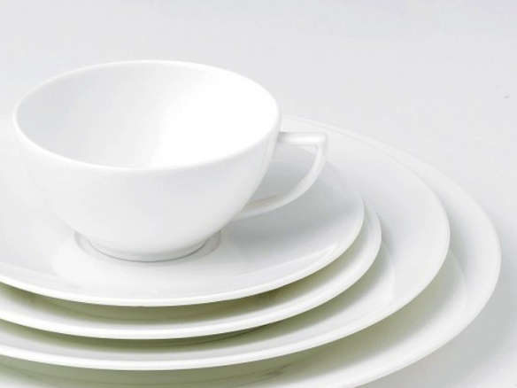 & Jasper Conran Wedgwood White Bone China Dinnerware