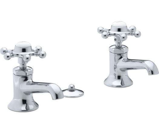 Meta polished chrome Washstand faucets
