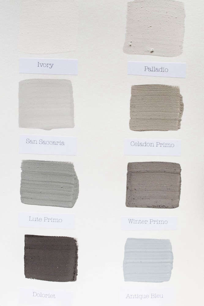 Kalklitir  Color Sample Cards