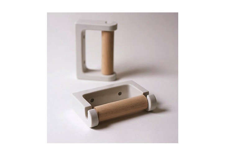 Toilet Paper Holder : 10 easy pieces: indie toilet paper holders remodelista