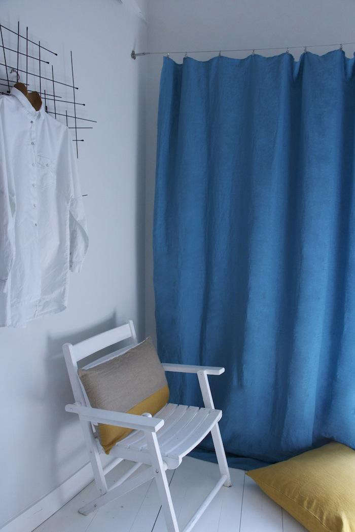 Custom Dyed Linens in Farrow & Ball Colors