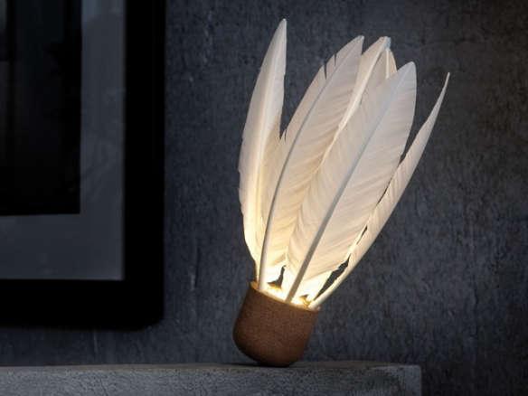godefroy de virieu shuttlecock lamp. Black Bedroom Furniture Sets. Home Design Ideas