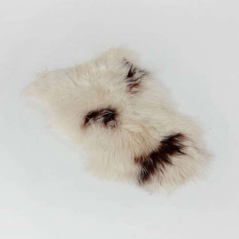 Extra Large Natural Spotted Icelandic Sheepskin