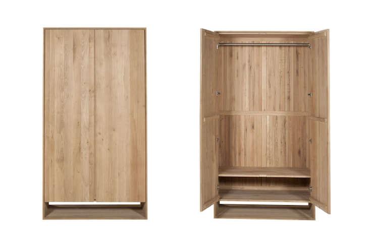Oak Nordic Wardrobe 2 Doors