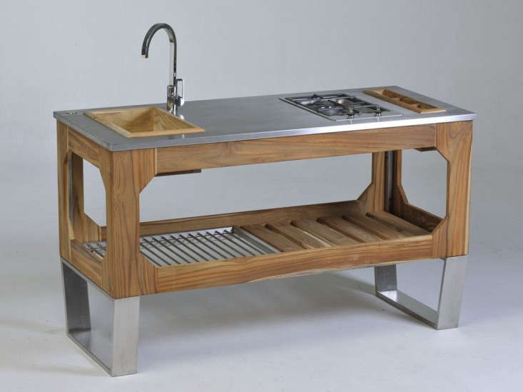 ... Above Designed By Mice Villa For Lgtek Outdoor The Steel And Wood  Outdoor Kitchen Is Best ...