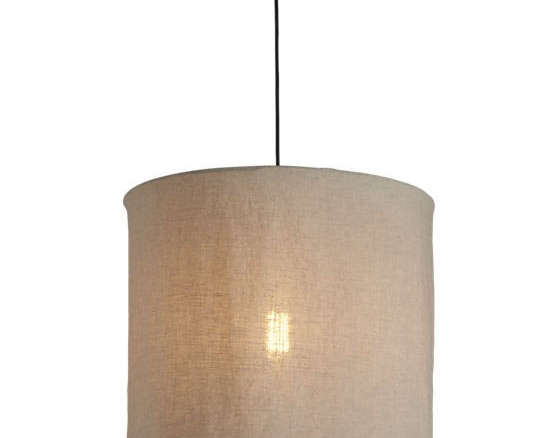 Linen pendant lamp mozeypictures Gallery