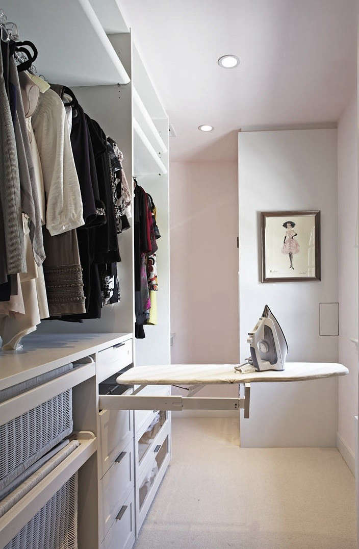 Superbe Above: A Custom Closet With Pullout Ironing Board By Lisa Adams Closet  Design.