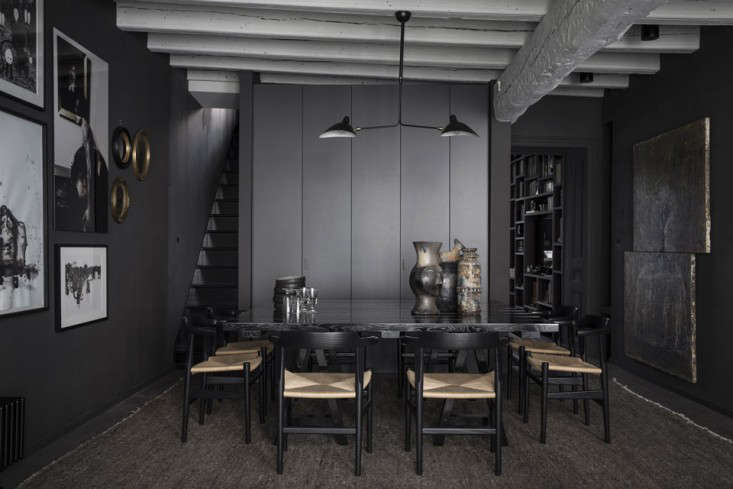 Steal This Look: Blackout Dining Room in Lyon, France - Remodelista