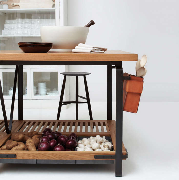 Above: The March Work Table Is Built Of White Oak And Steel And Can Be  Customized With Leather Accessory Boxes, A Wine Rack, Or An Ash Basket.