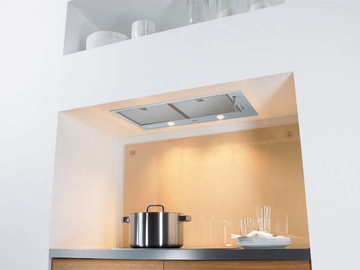 remodeling 101: ceiling-mounted recessed kitchen vents - remodelista