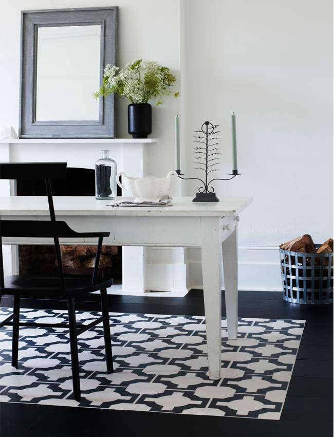 The Return of the Vinyl Floor Tile? - Remodelista