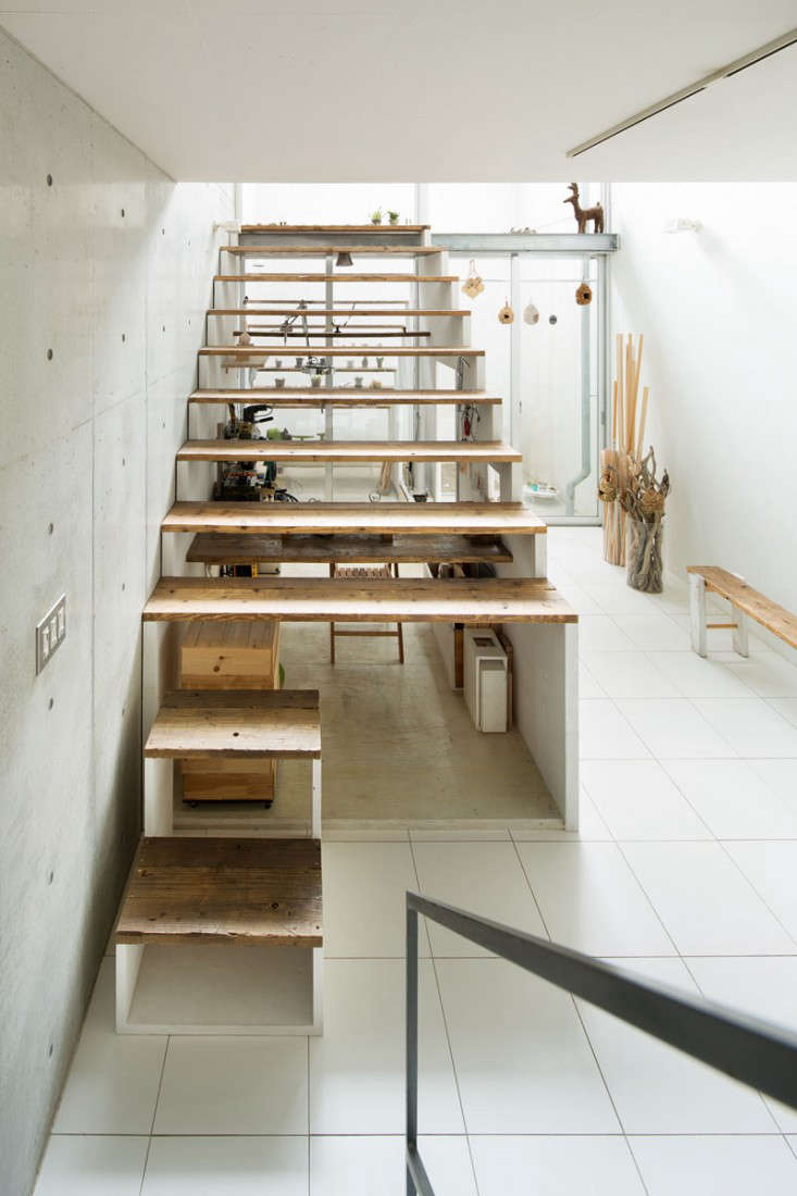 Small Space Living An Office Under The Stairs In Tokyo