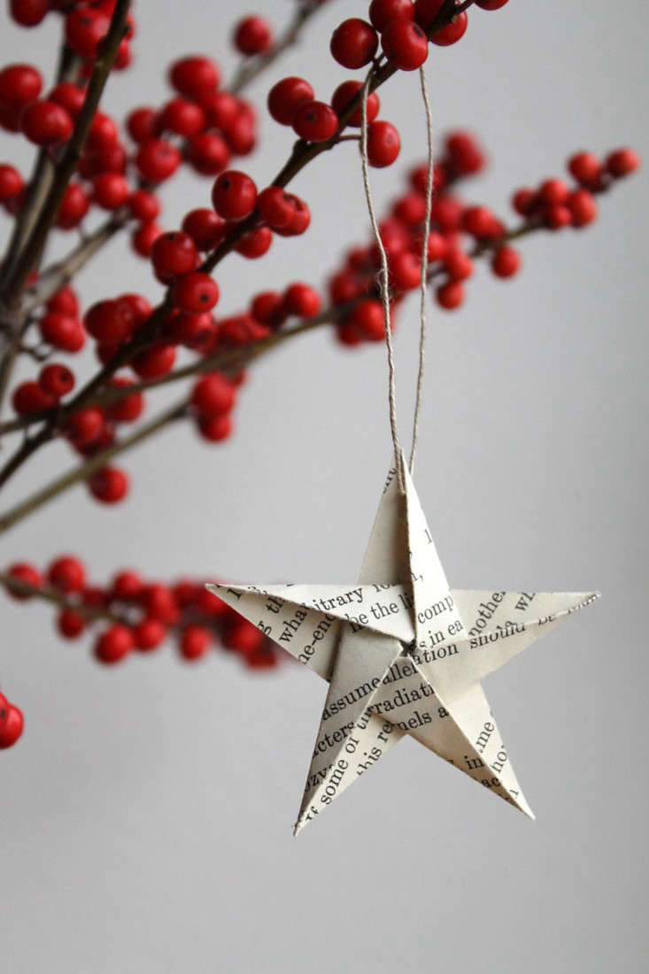 10 Easy Pieces: Handmade Holiday Ornaments - Remodelista