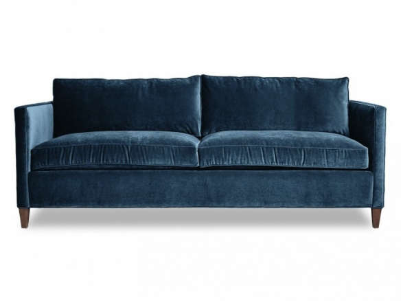 10 Easy Pieces The Blue Velvet Sofa Luxe Edition Remodelista