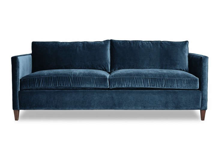 Samt sofa  Cobble Hill Hudson Sofa