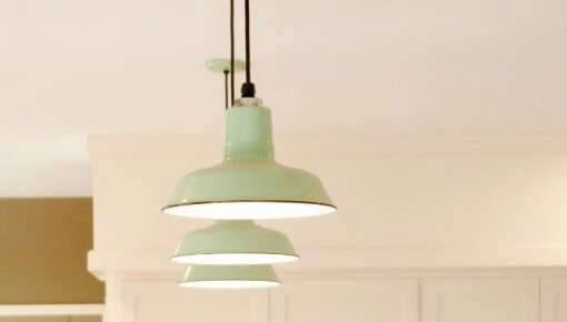 Made In America Classic Porcelain Enameled Lighting From