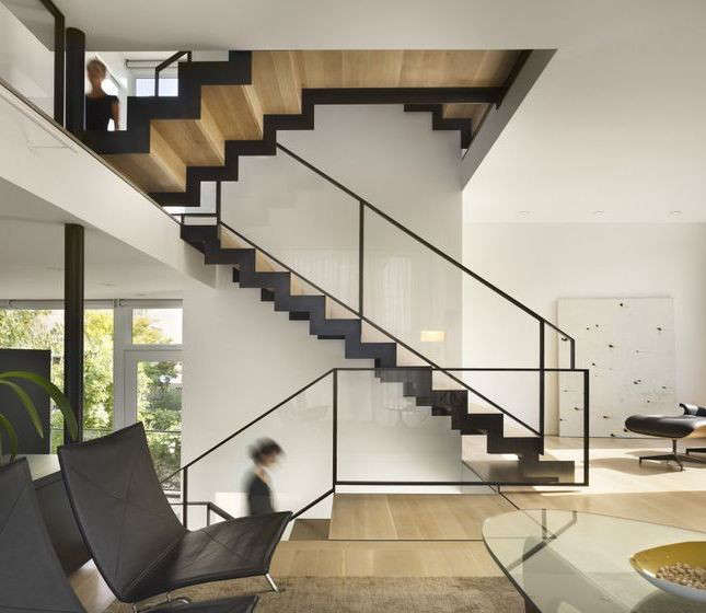 Interior Designs Stairs Location: 10 Favorites: Wood And Steel Stairs From The Remodelista