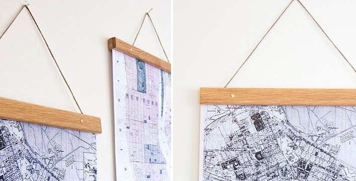6 Simple Ways To Hang Art
