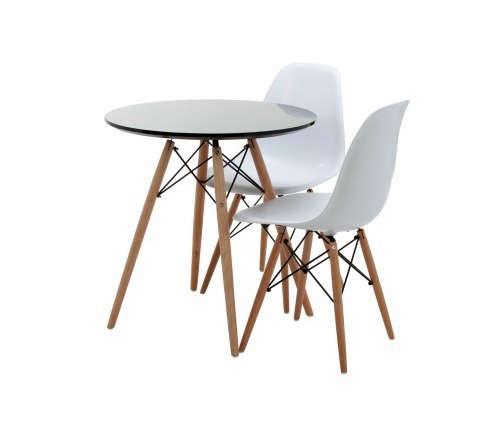 Replica Eames Chair eames round wood leg table