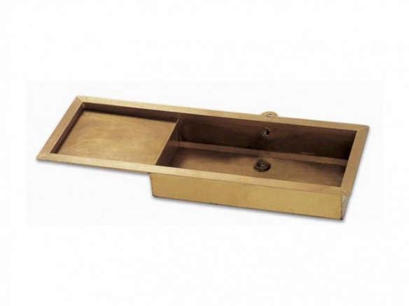 burnished brass sink - Brass Kitchen Sinks