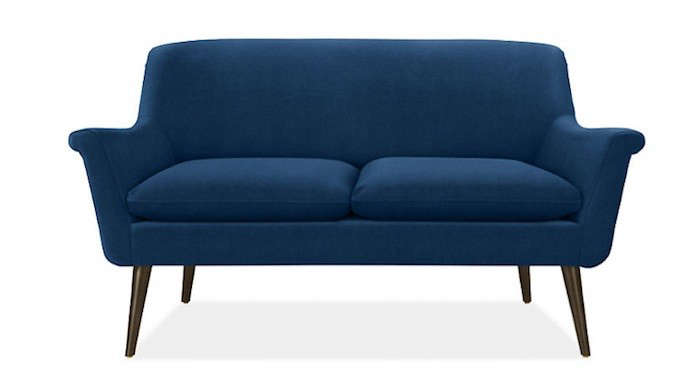 Above The 60 Inch Murphy Sofa From Room Board Is 1 299 And Available In A Range Of Fabrics