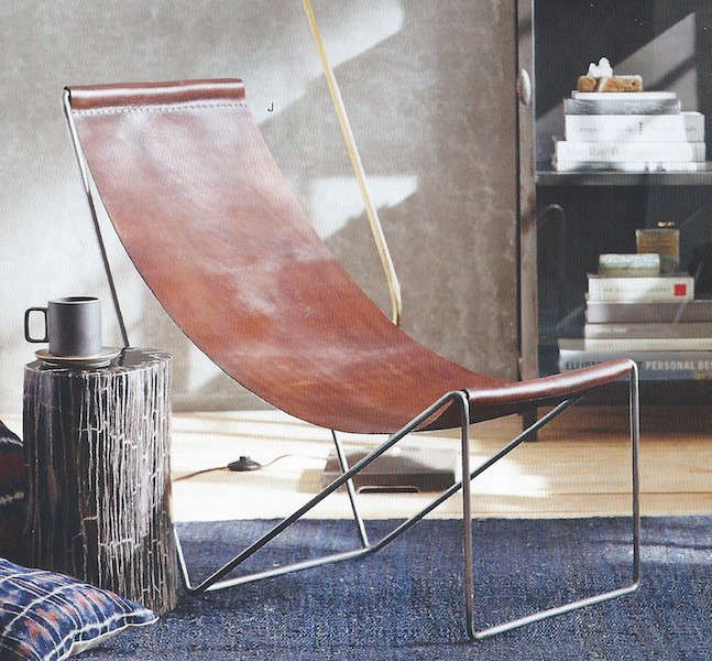 5 Favorites: Modern Leather Sling Chairs