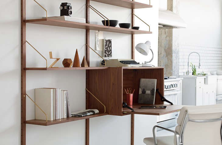 Return of a Modern Classic: The Royal System Shelving Unit