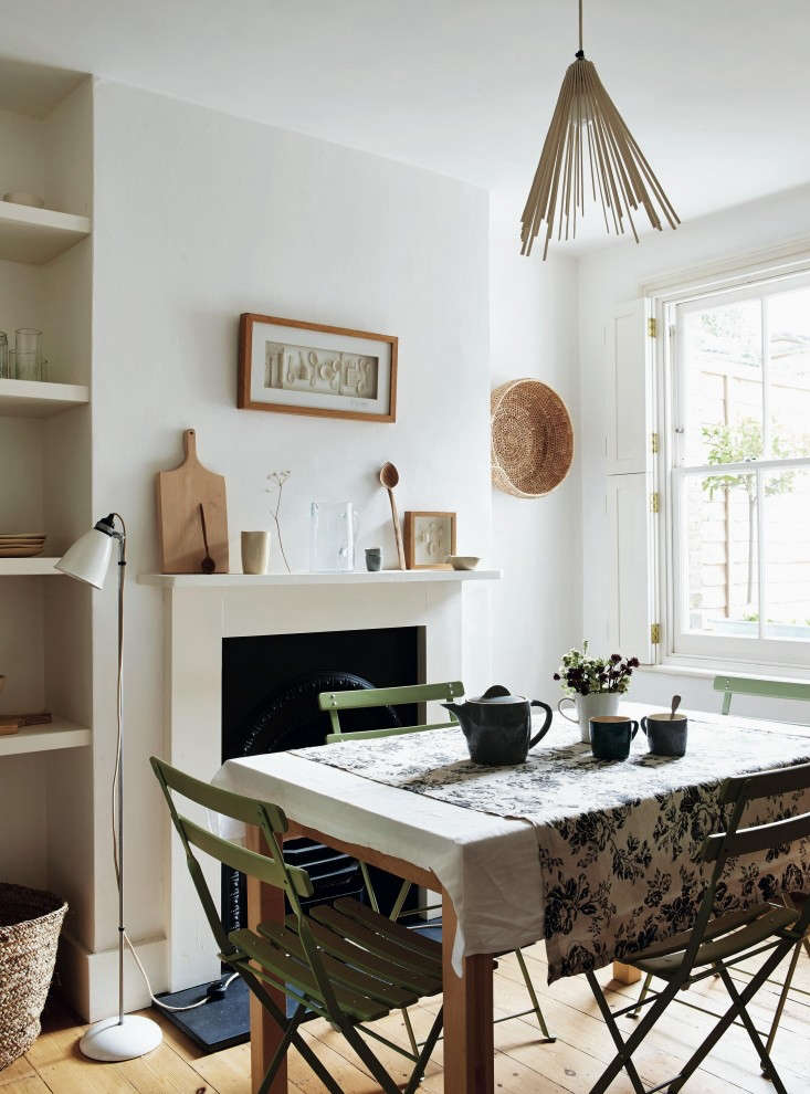 Steal this look a compact dining room in a london Small dining rooms london
