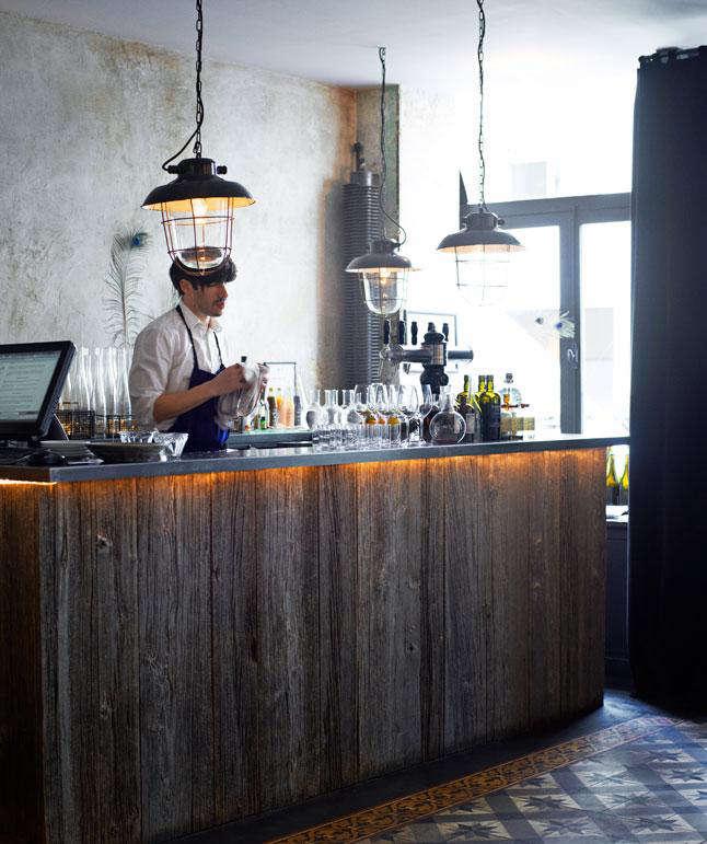 Industrial Chic in Paris: Septime Restaurant
