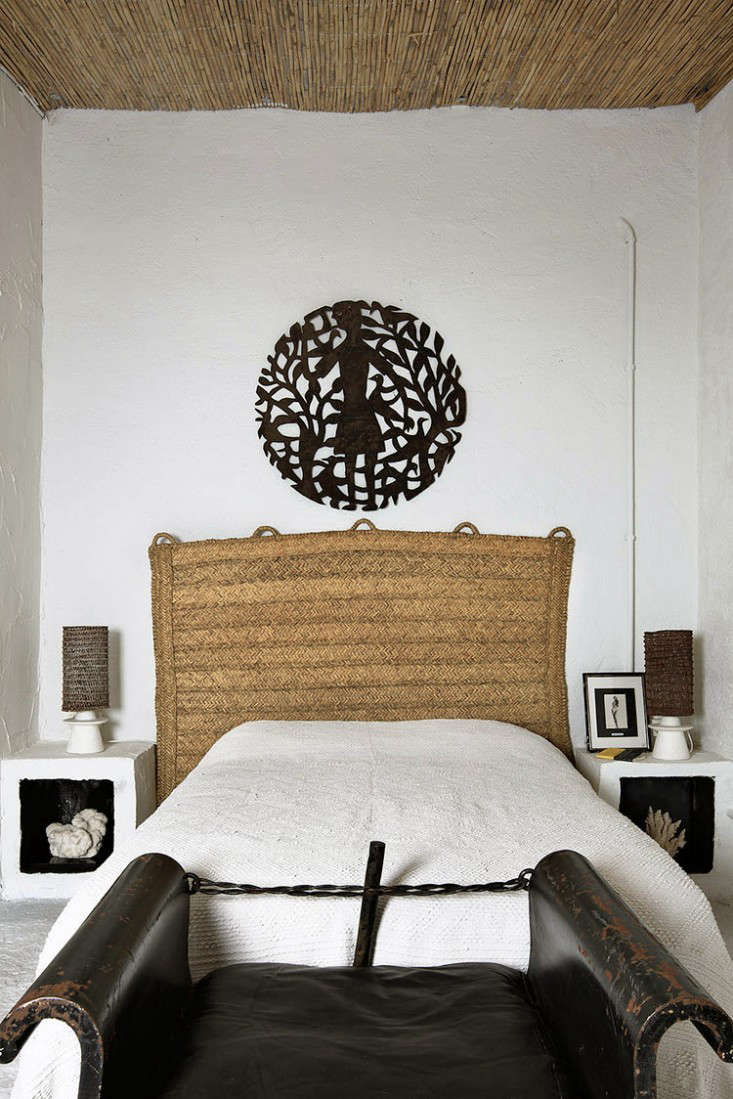Design Idea To Steal A Diy Headboard From A Natural Fiber