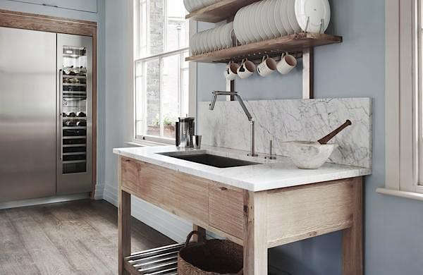 Drip Dry: 13 Kitchens with Wall-Mounted Dish Racks - Remodelista