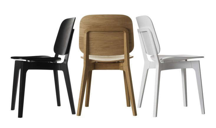 Above Designed By Stockholm Architects Claesson Koivisto Rune For Swedese The Rohsska Chair Has A Solid Oak Frame And Laminated Seat Backrest
