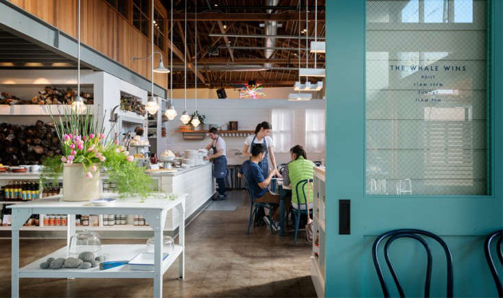 The whale wins a seattle restaurant inspired by sea