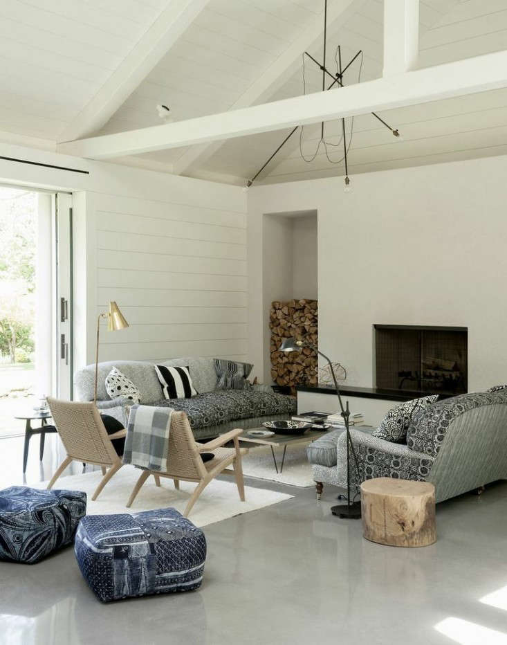 Tiinas Living Room Concrete Floors Remodelista
