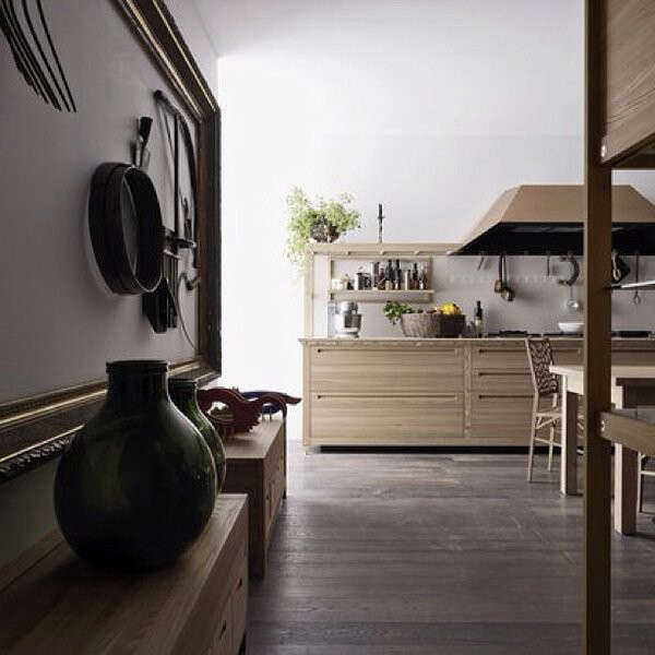 Modern Italian Rusticity from Valcucine - Remodelista