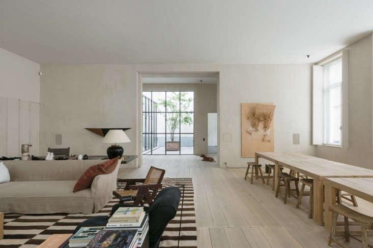 Belgian design master Vincent Van Duysen likens the Belgian aesthetic to the &#8