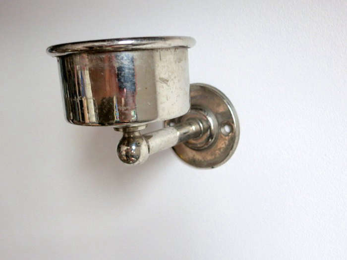 Bathroom Candle Sconces design sleuth: vintage cup holders as candle sconces - remodelista