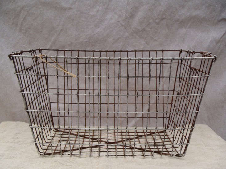 Antique Wire Baskets | Down To The Wire Baskets With Style Remodelista