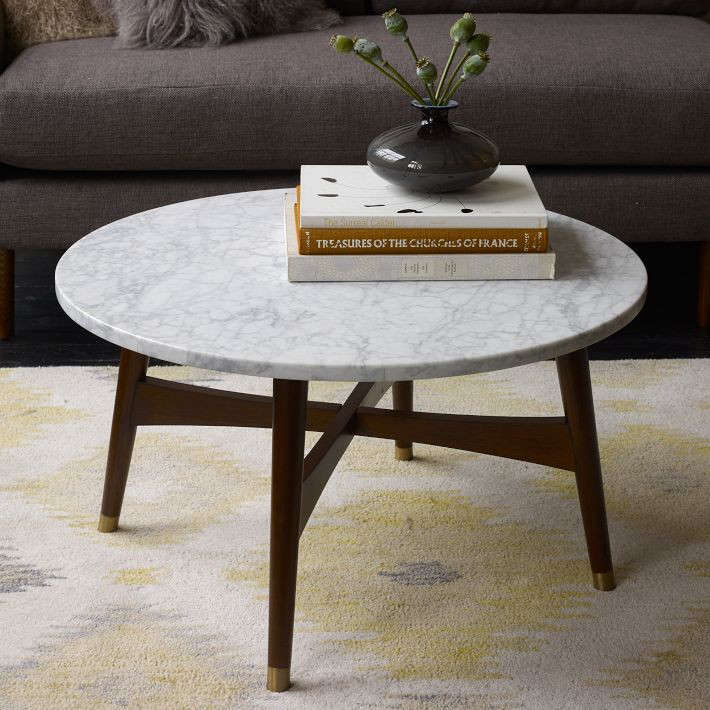 detailed look c8910 1a84f High/Low: Marble-Topped Coffee Tables - Remodelista