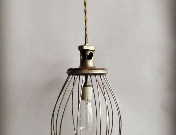 Vintage Pendant Lamp Whisk