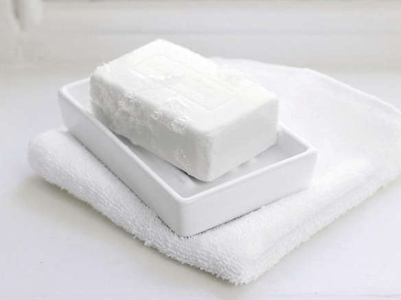 Ceramic Soap Dish White