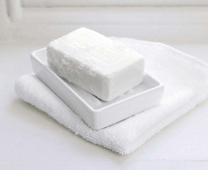 Above White Ceramic Soap Dish 8 From The Company