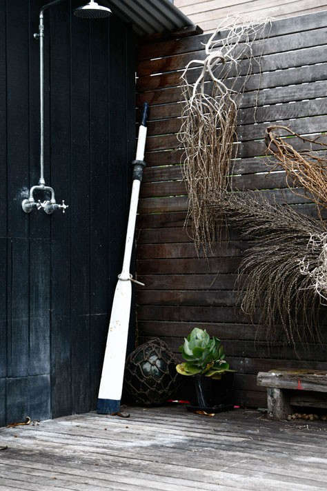 High Low Rugged Outdoor Shower Remodelista