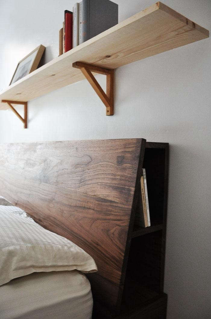 High Low Clutter Eliminating Storage Headboard Remodelista