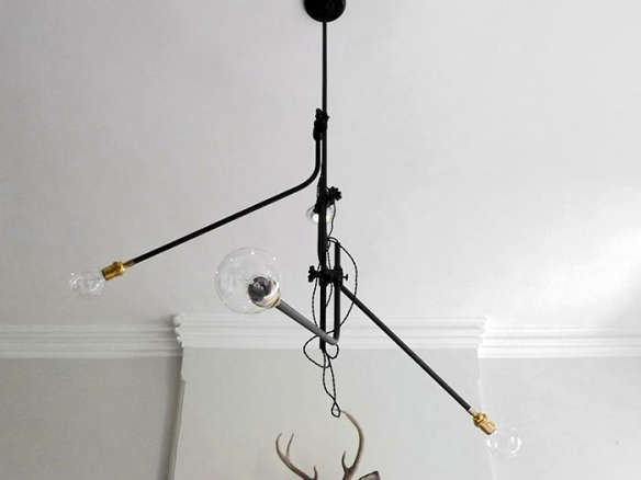 Workstead 3 arm bent chandelier mozeypictures Images